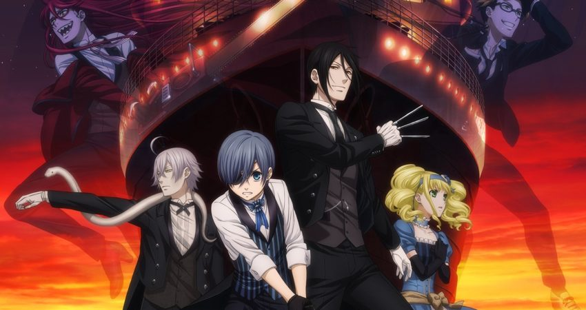 Black Butler: Book of the Atlantic Blu-Ray Release