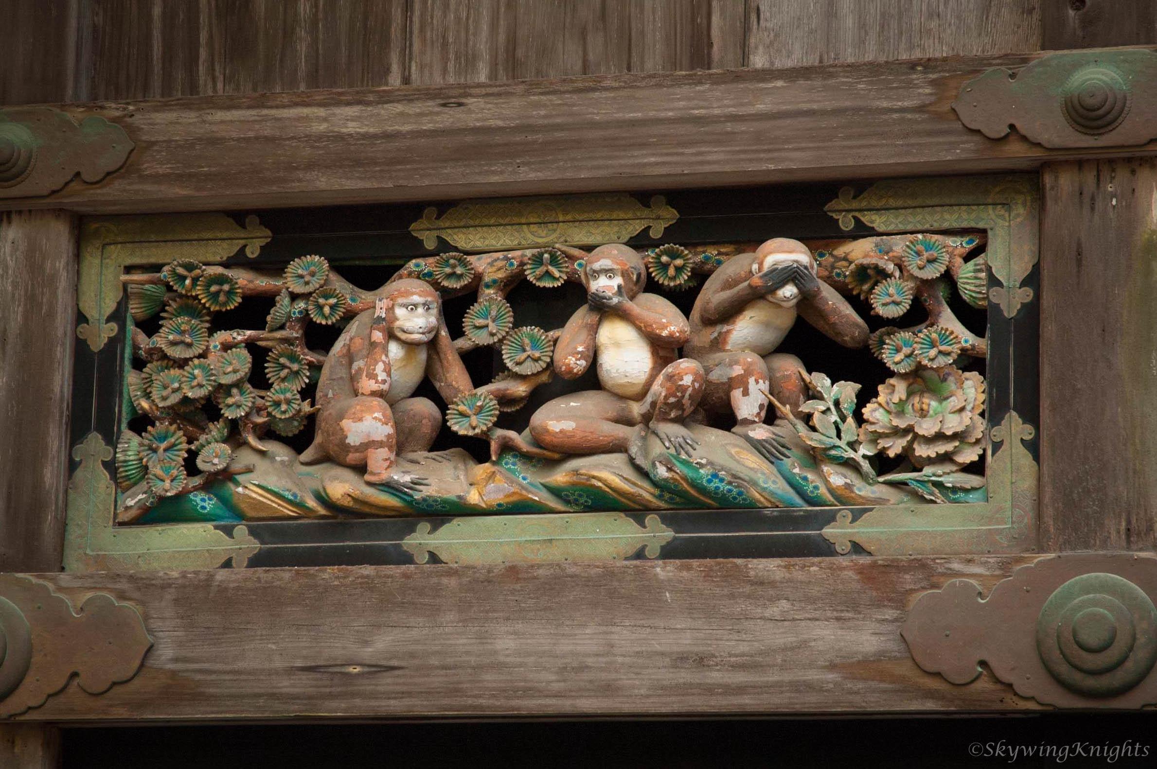 Mizaru, Iwazaru, Kikazaru