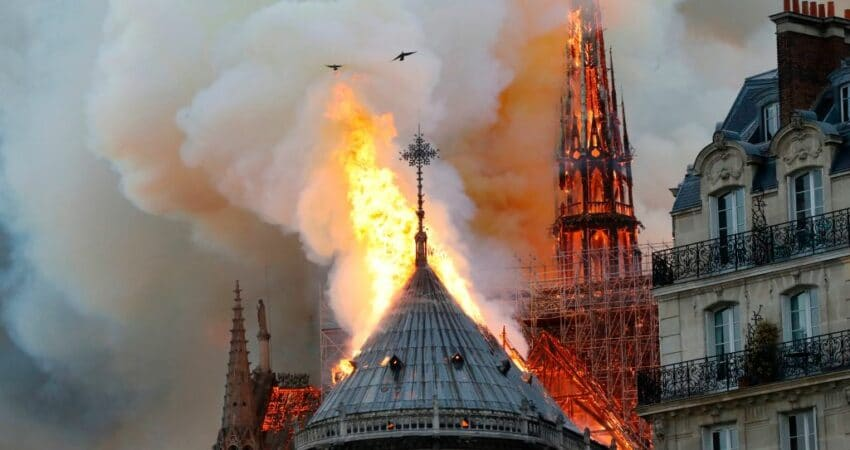 The Tragic Burning of Notre Dame