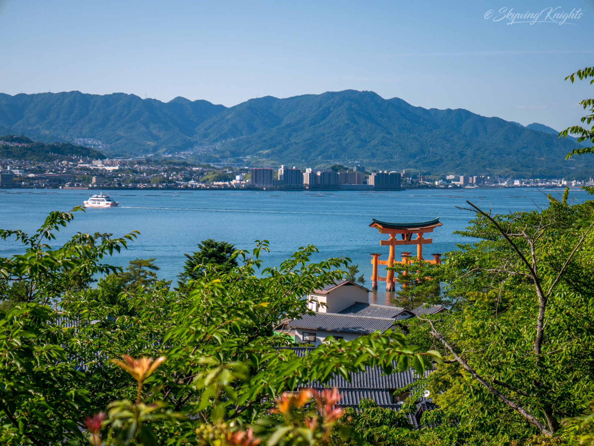 Miyajima Otorii from Afar
