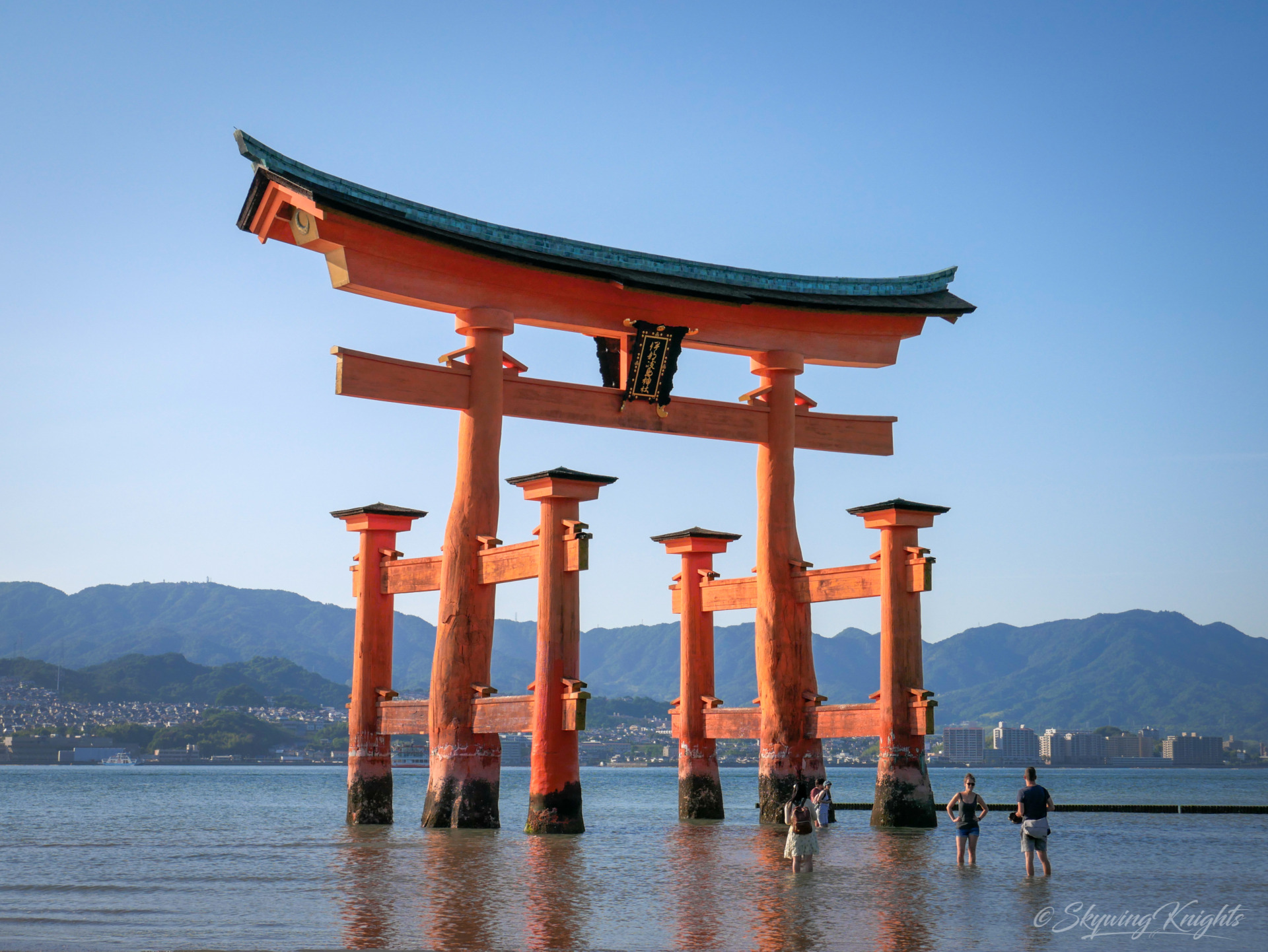 Miyajima Otorii Low Tide 1