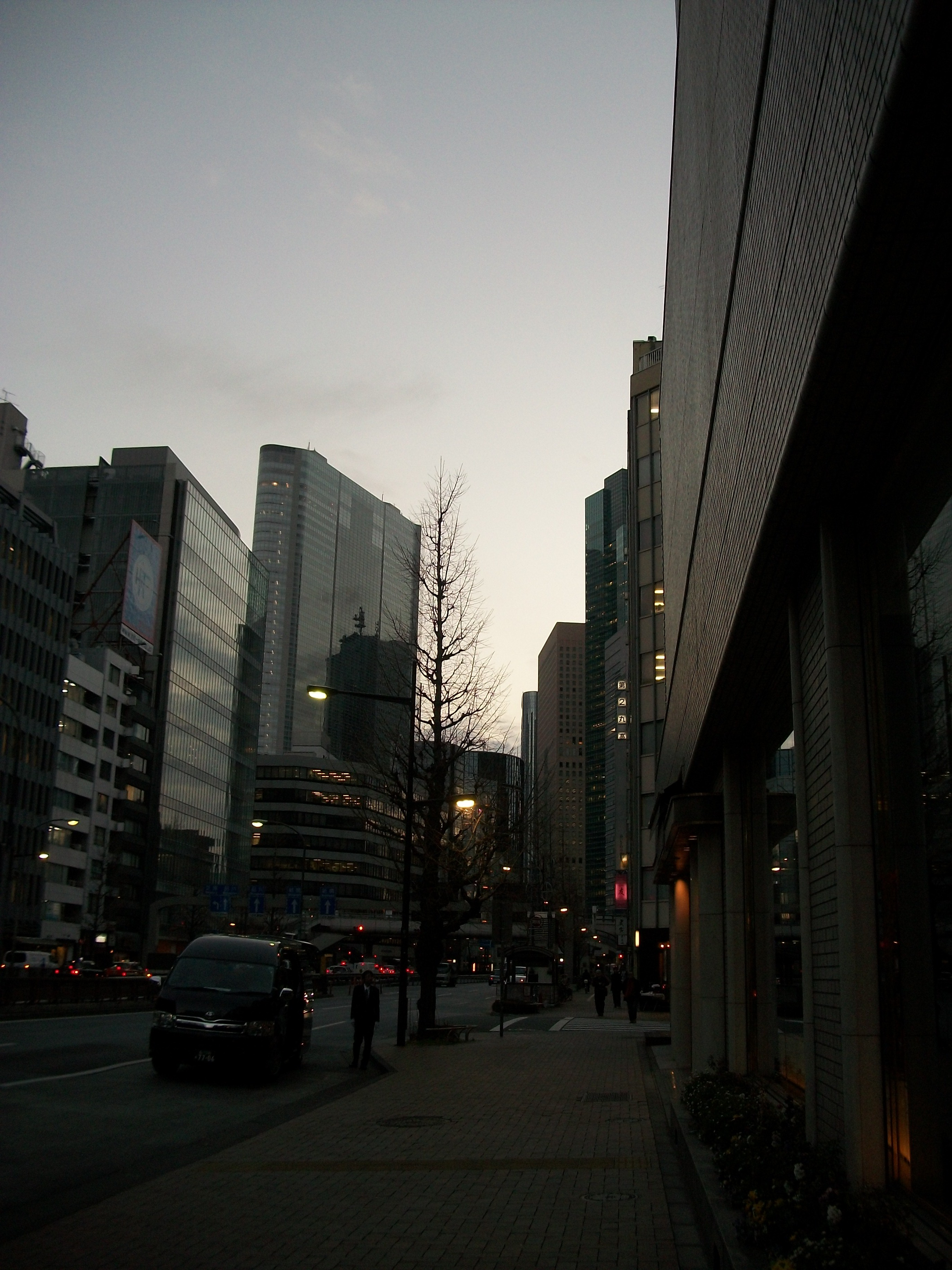 First Night in Japan Ginza